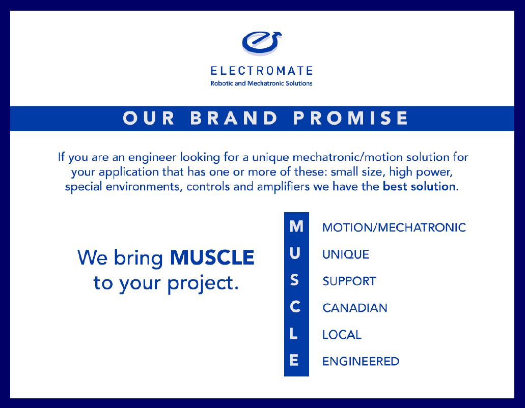 Electromate Brand Promise