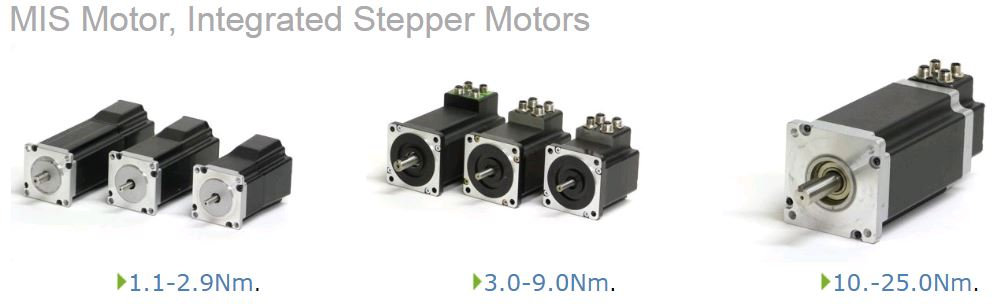 JVL INTEGRATED STEPPER MOTOR FAMILY