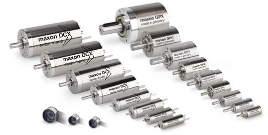 Small DC Brushless Motor - Maxon DC Mini Motors