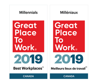 Electromate is one of the 2019 Best Workplaces™ for Millennials
